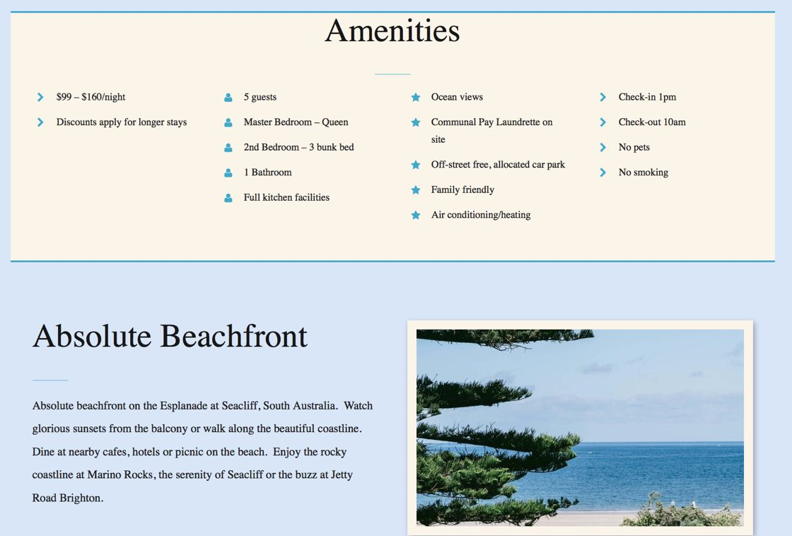 Brighton Beach Apartments website