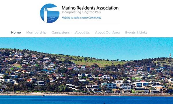 Web Design Adelaide Marino Residents Association