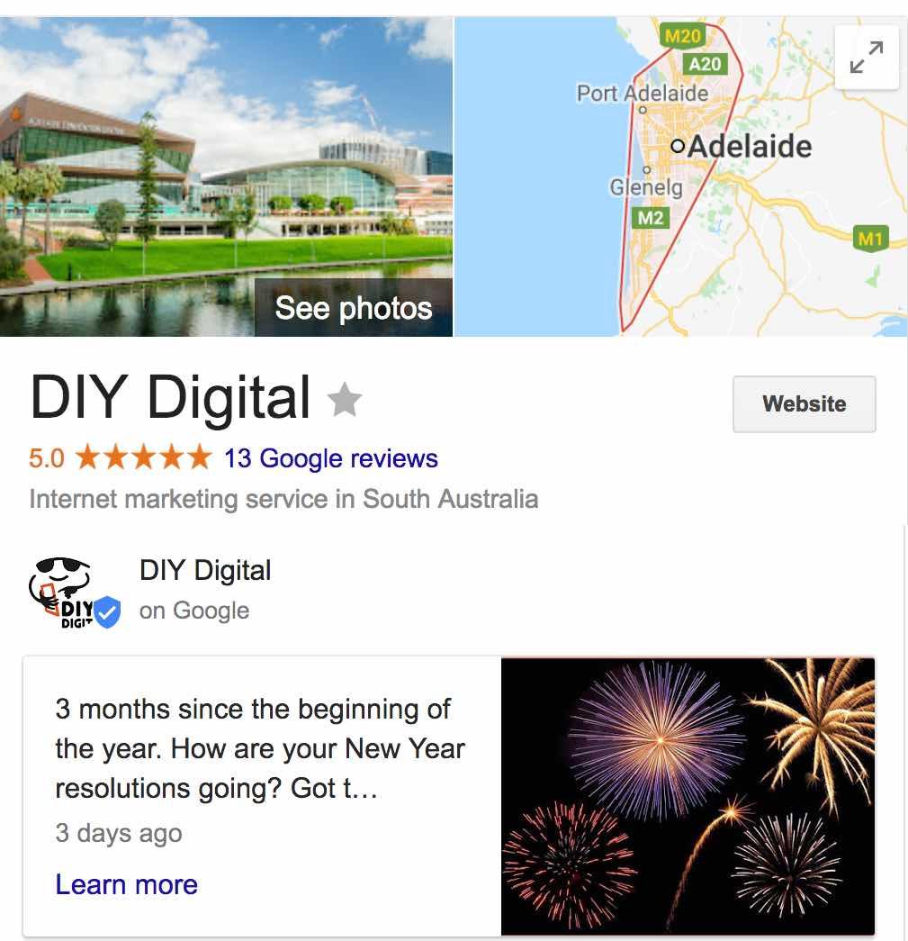 Google Maps with My Business DIY Digital w Adel photo