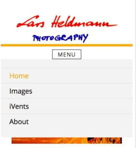 Mobile header example