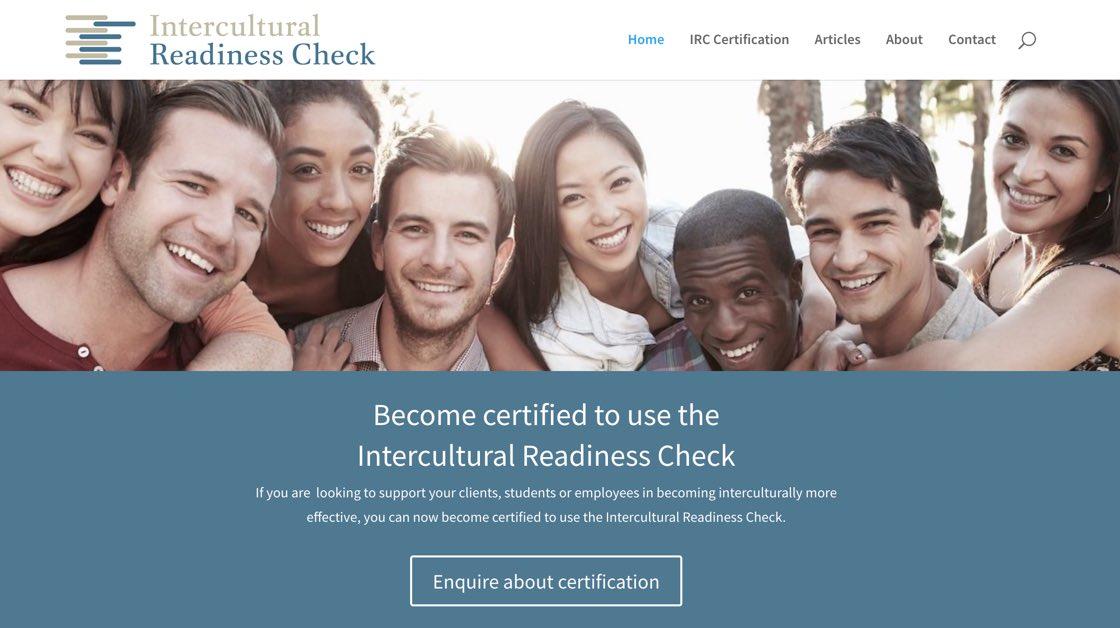 Website Design Adelaide Intercultural Readiness Check website