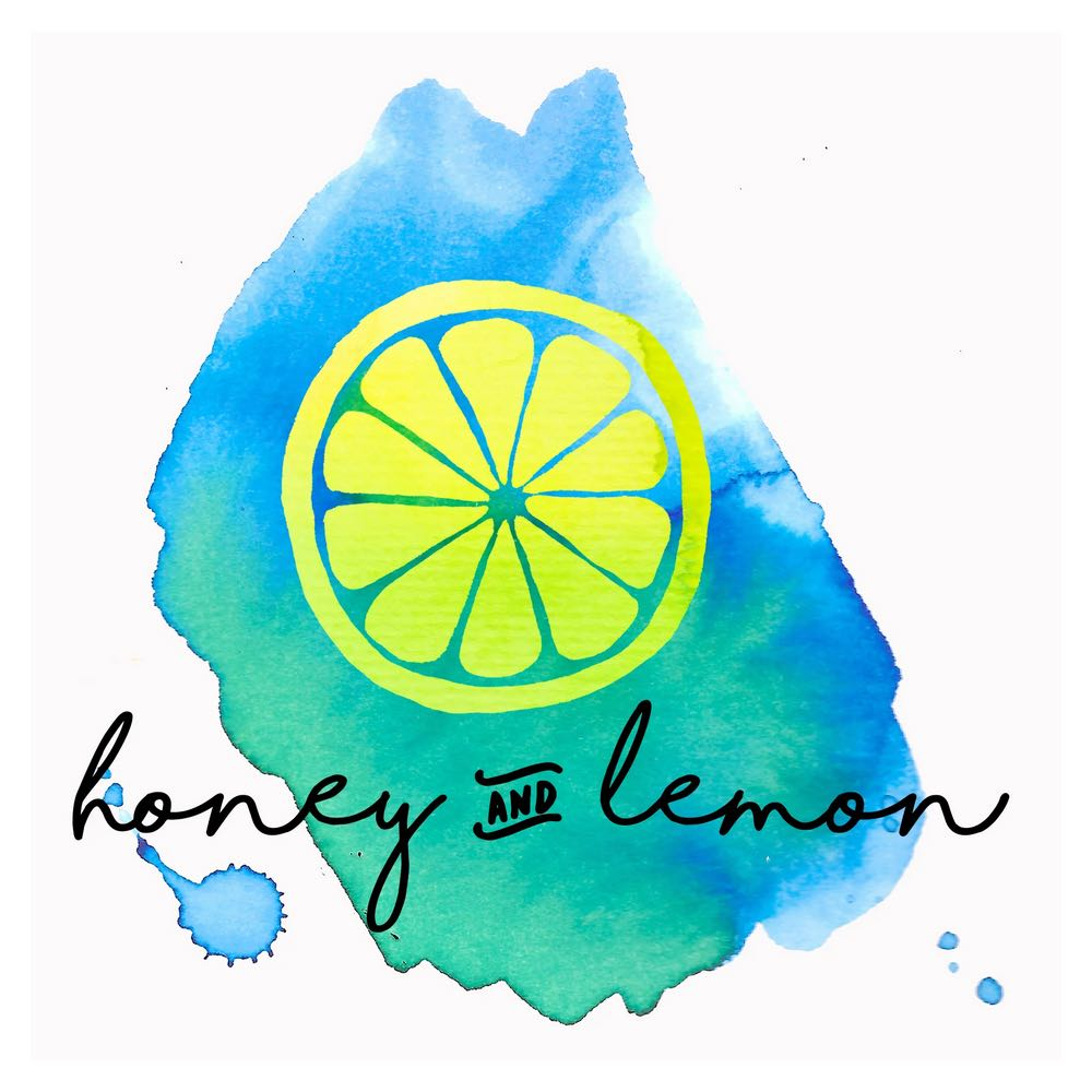 make a logo Fiverr honey and lemon