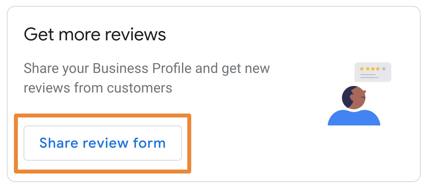 Google share review